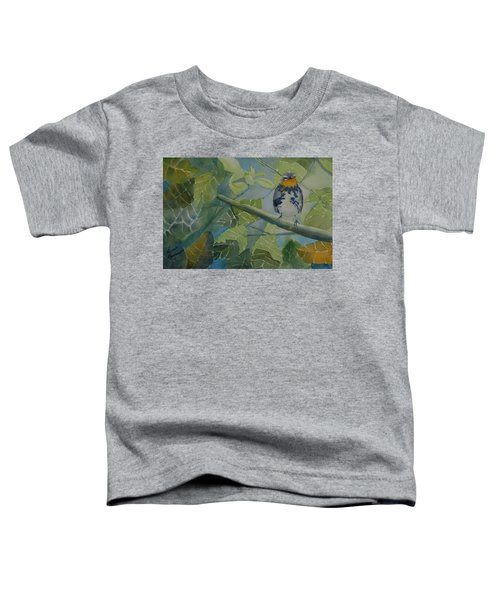 Blackburnian Warbler I Toddler T-Shirt