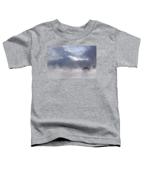 Blizzard In Bryce Canyon Toddler T-Shirt