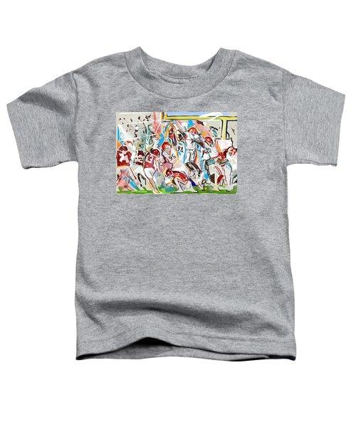 Blocked Toddler T-Shirt