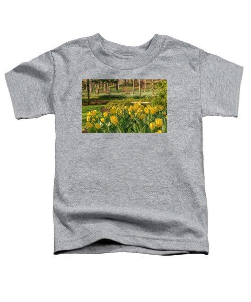 Bloomin Tulips Toddler T-Shirt