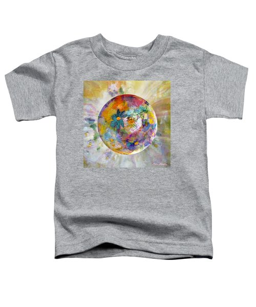 Blossoms In Pastel Toddler T-Shirt