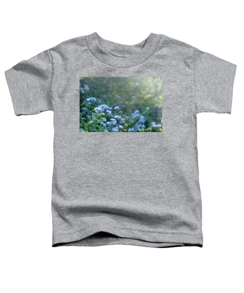 Blue Blooms Toddler T-Shirt