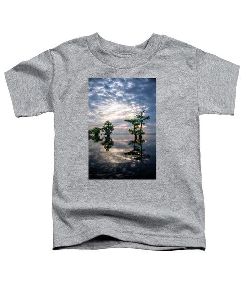Blue Cypress Sunrise #1 Toddler T-Shirt