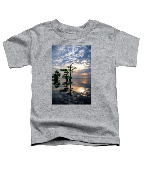 Blue Cypress Sunrise #2 Toddler T-Shirt