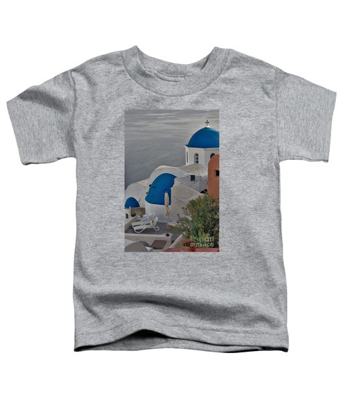 Blue Domes Toddler T-Shirt
