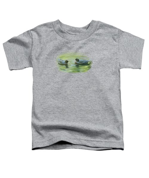 Blue Ducks  Toddler T-Shirt