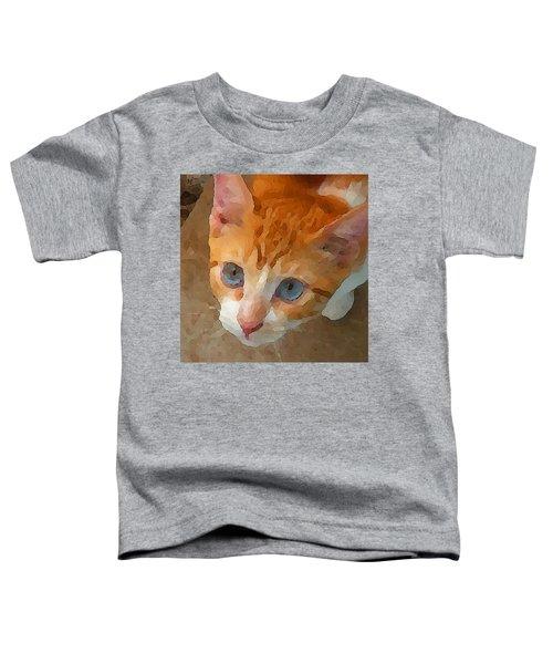 Blue Eyed Punk  Toddler T-Shirt