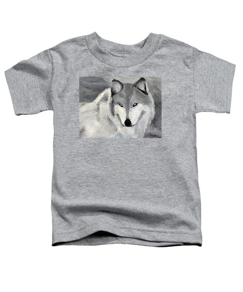 Blue Eyes Toddler T-Shirt