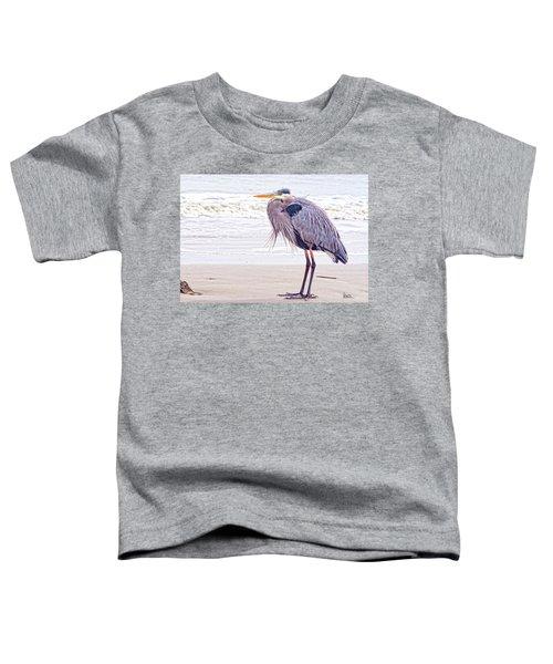 Blue Heron Watching Toddler T-Shirt