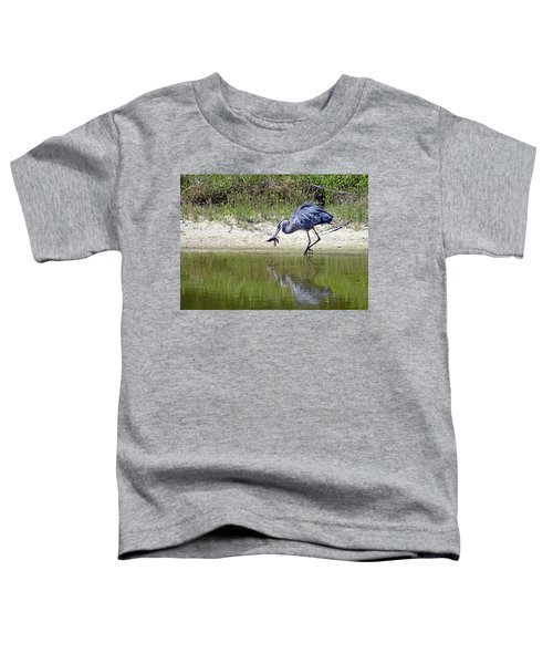 Blue Heron's Lucky Day Toddler T-Shirt
