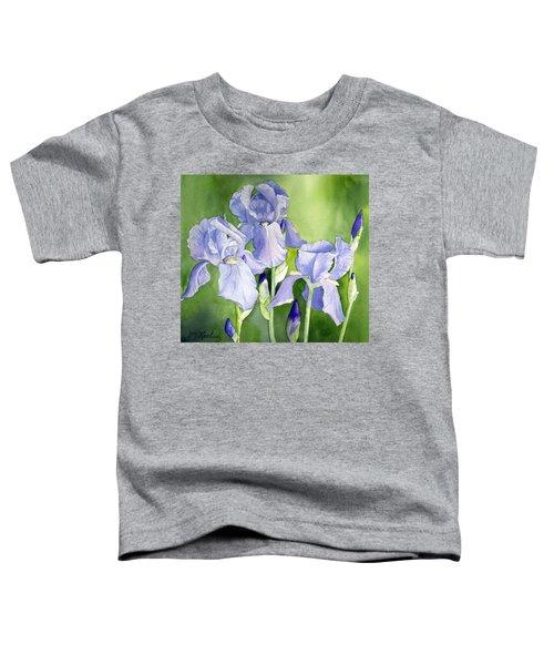 Blue Iris Toddler T-Shirt