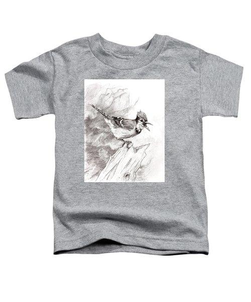 Blue Jay Toddler T-Shirt