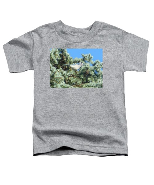 Blue Jay Colorado Spruce Toddler T-Shirt