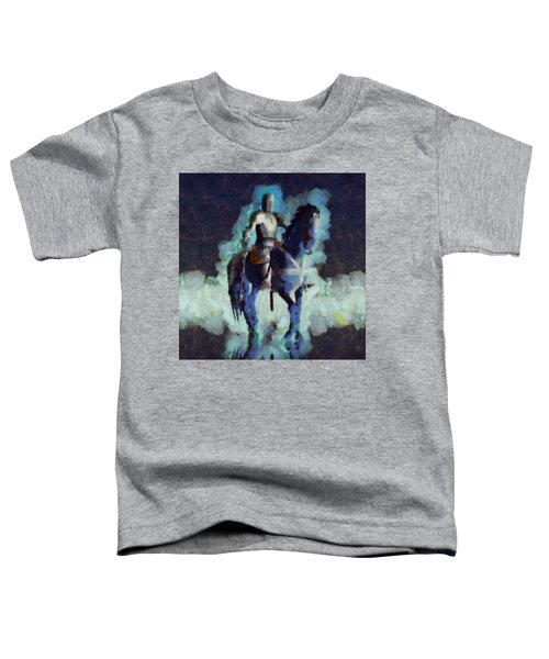 Blue Knight Toddler T-Shirt