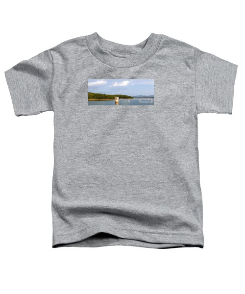 Blue Ridge Dam Toddler T-Shirt