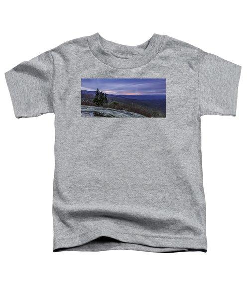 Blue Ridge Parkway Sunrise Toddler T-Shirt