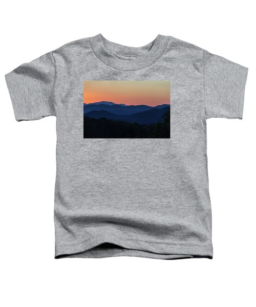 Blue Ridge Sunset Toddler T-Shirt