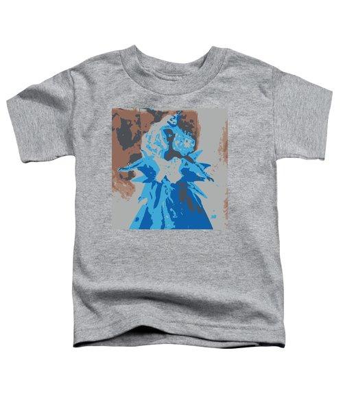 Blue Sunflower Barbie Toddler T-Shirt