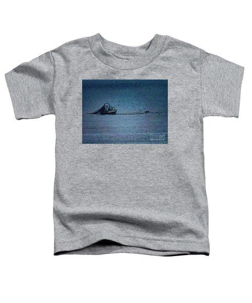 Blue Trawler 1 Toddler T-Shirt