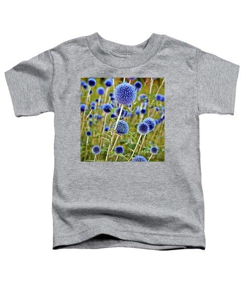 Blue Wild Thistle Toddler T-Shirt