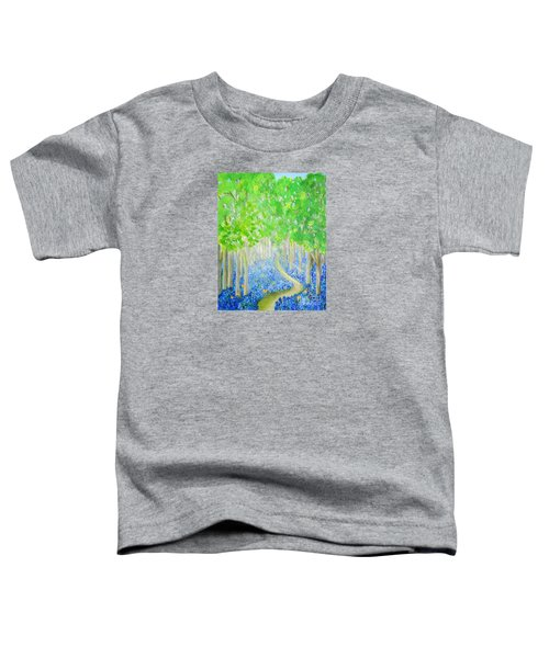 Bluebell Wood With Butterflies Toddler T-Shirt