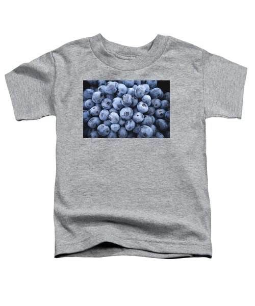 Blueberries Toddler T-Shirt by Happy Home Artistry