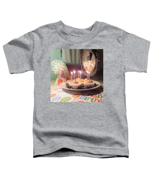 Blueberry Muffin Birthday Toddler T-Shirt