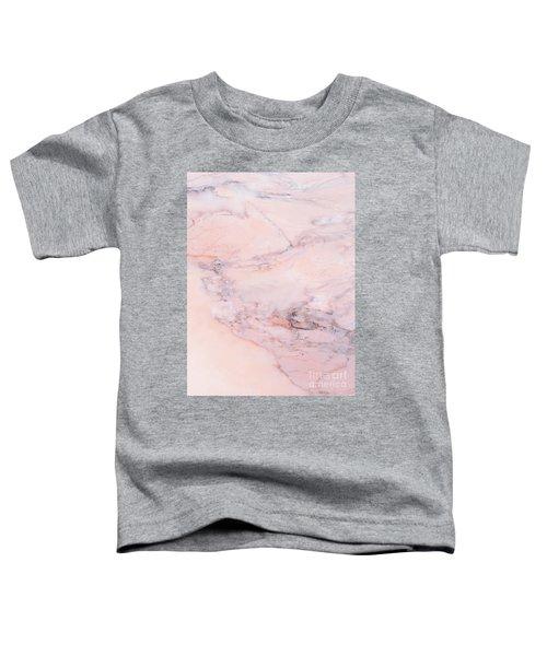 Blush Marble Toddler T-Shirt