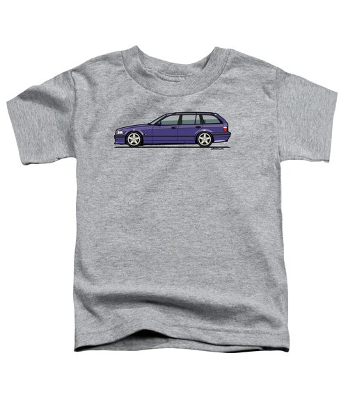 Bmw E36 328i 3-series Touring Wagon Techno Violet Toddler T-Shirt