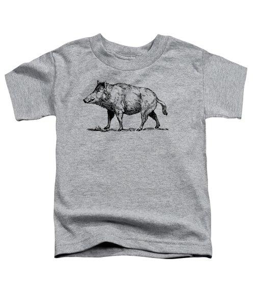 Boar Toddler T-Shirt