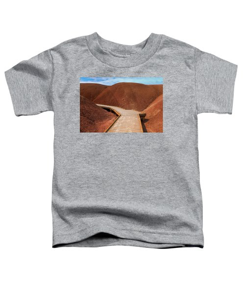Boardwalk At Painted Cove Hiking Loop Toddler T-Shirt