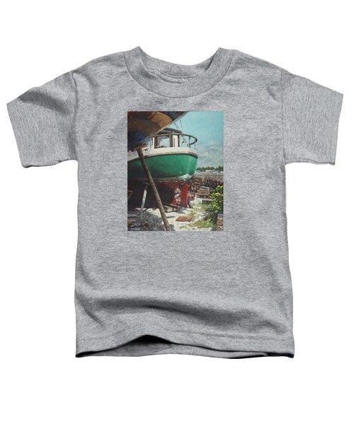 Boat Yard Boat 01 Toddler T-Shirt