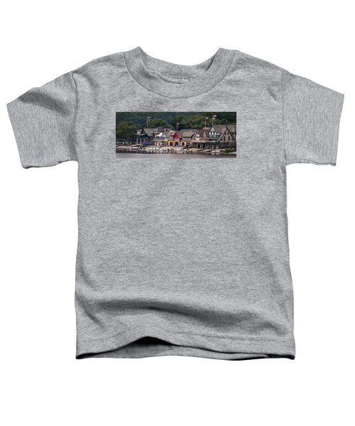 Boathouse Row Philadelphia Pa  Toddler T-Shirt