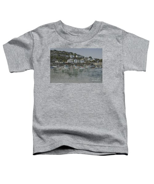Boats At Looe Toddler T-Shirt