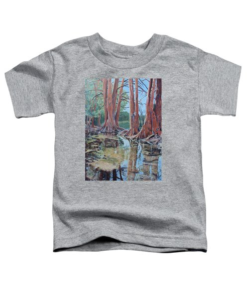 Boerne River Scene Toddler T-Shirt