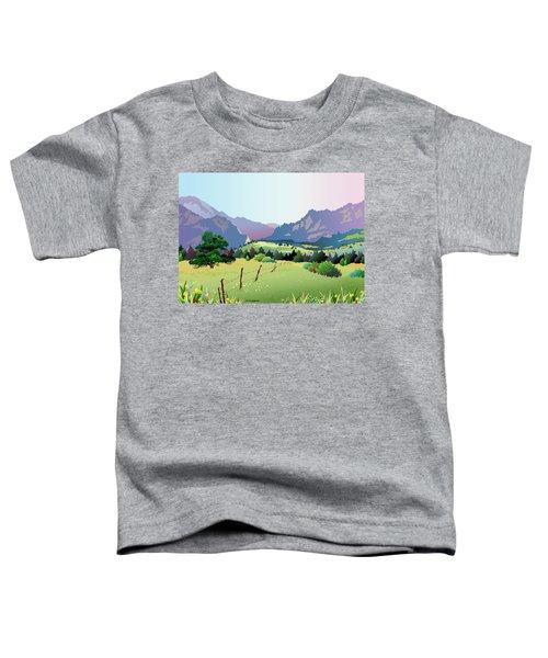 Bolder Boulder Poster 2009 Toddler T-Shirt