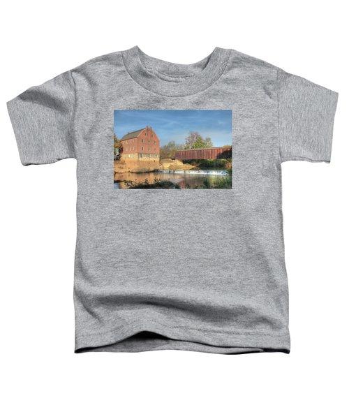 Bollinger Mill And Burfordville Covered Bridge Toddler T-Shirt