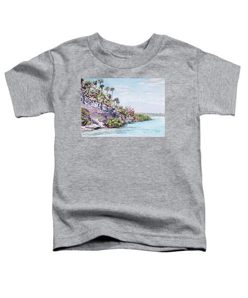 Bonefish Creek Watercolour Study Toddler T-Shirt