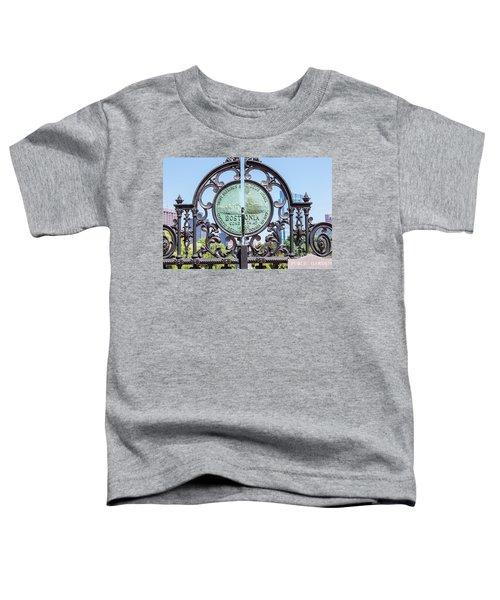 Boston Garden Gate Detail Toddler T-Shirt