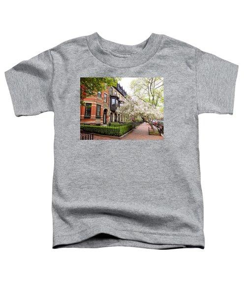 Boston Spring Toddler T-Shirt
