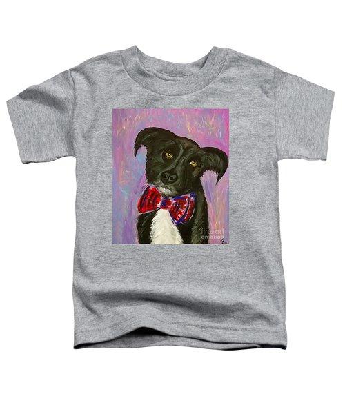 Bow Tie Boy Toddler T-Shirt