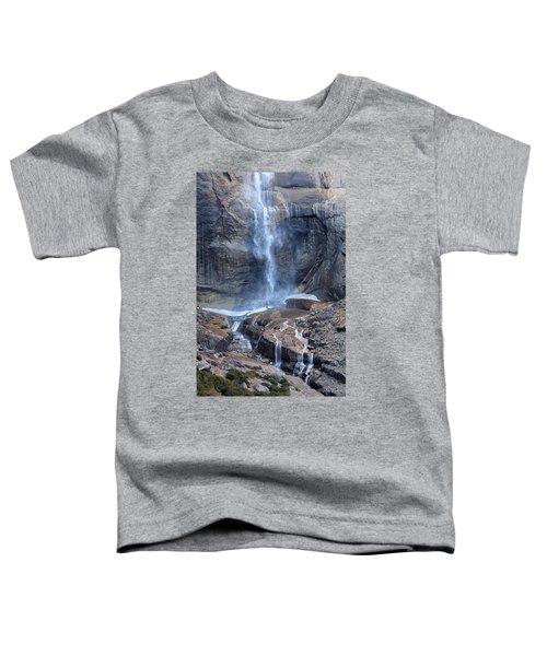 Bottom Part Of Upper Yosemite Waterfall Toddler T-Shirt