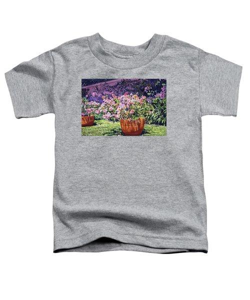 Bougainvillea Flower Pots Beverly Hills Toddler T-Shirt
