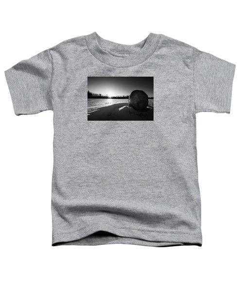 Boulder At Sunset Toddler T-Shirt