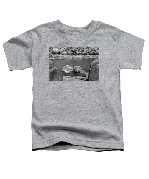 Toddler T-Shirt featuring the photograph Boulders Of Tungabhadra, Hampi, 2017 by Hitendra SINKAR