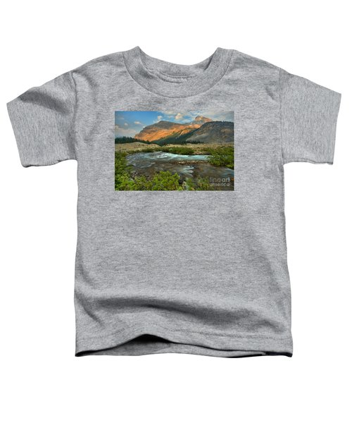 Bow Glacier Falls Trail Toddler T-Shirt