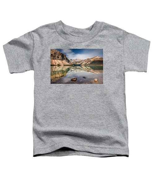 Bow Lake Glorious Reflection Toddler T-Shirt