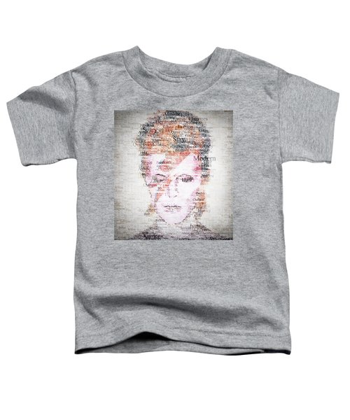 Bowie Typo Toddler T-Shirt