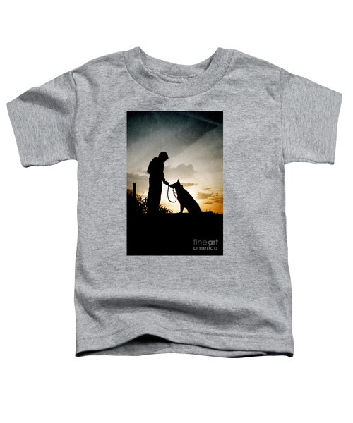 Boy And His Dog Toddler T-Shirt