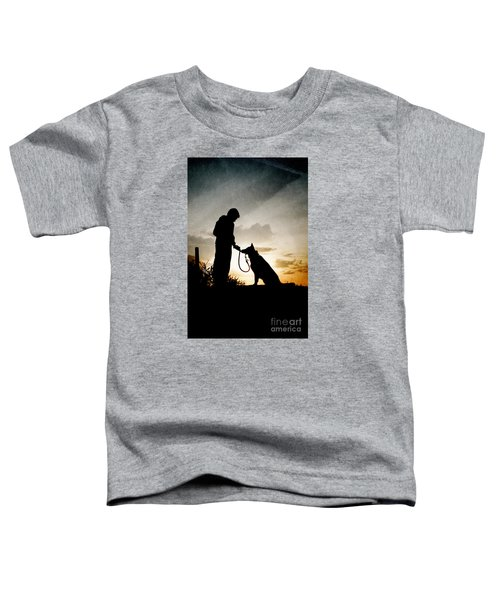 Boy And His Dog Toddler T-Shirt